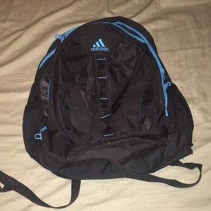 Black adidas backpack